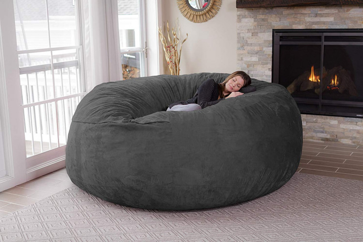 The Biggest Bean Bag Chair You've Ever Seen