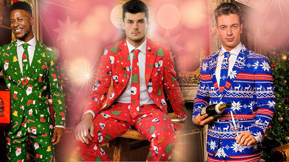 Christmas Suits For The Stylish Lad With Holiday Spirit