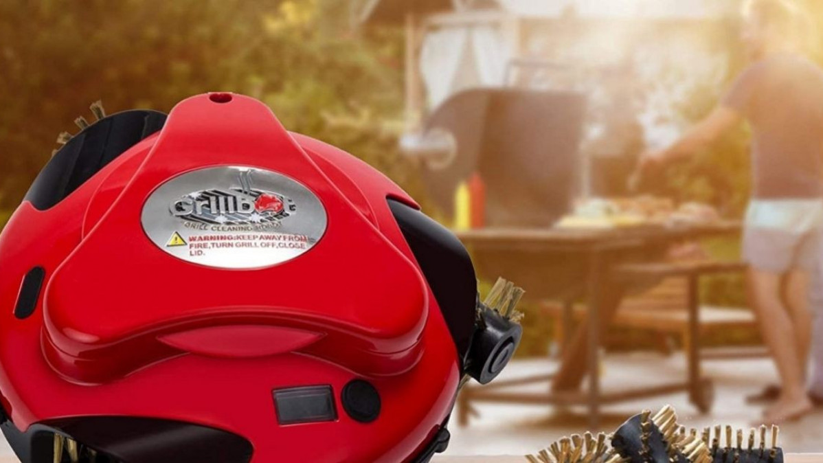 Clean Your Grill without a Hustle with This Grill Cleaning Robot