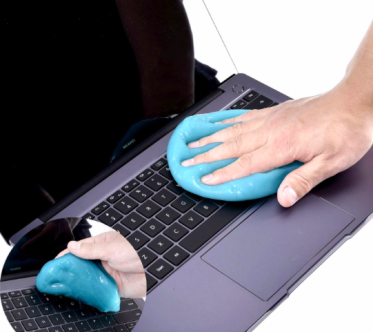 Remove Dirt from Your Devices with Slime Gel