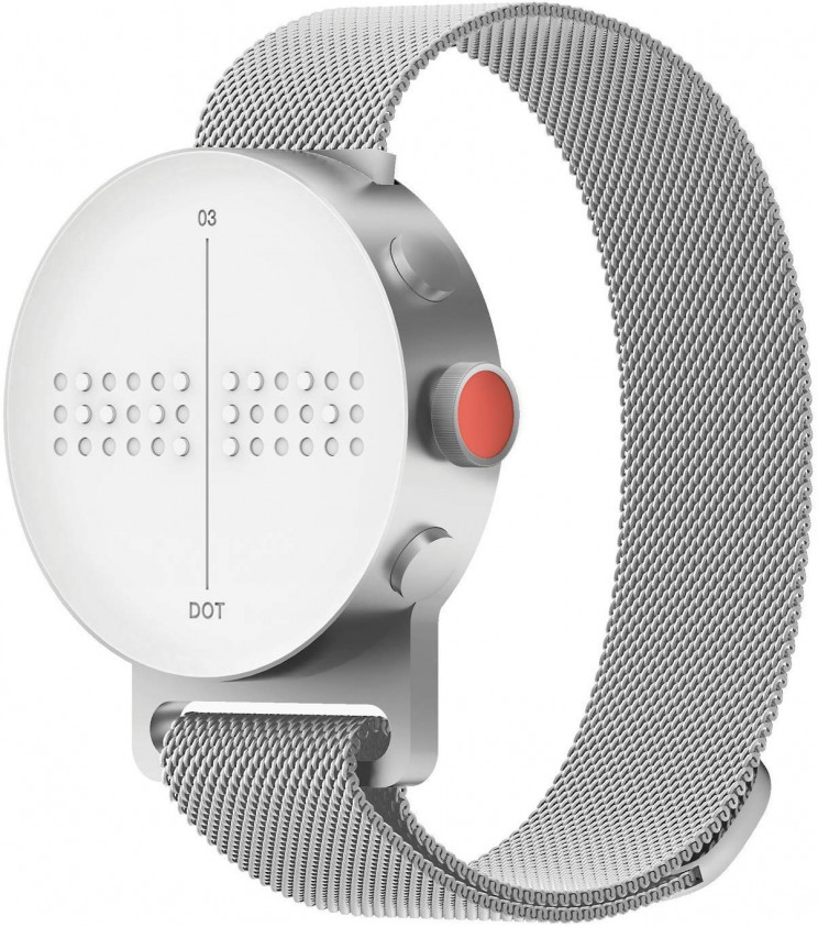 The Newest Braille Technology: DOT Watch
