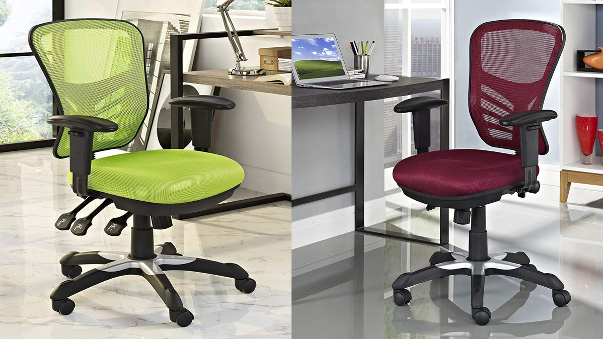 Breathable Mesh Office Chair With Ergonomic Support