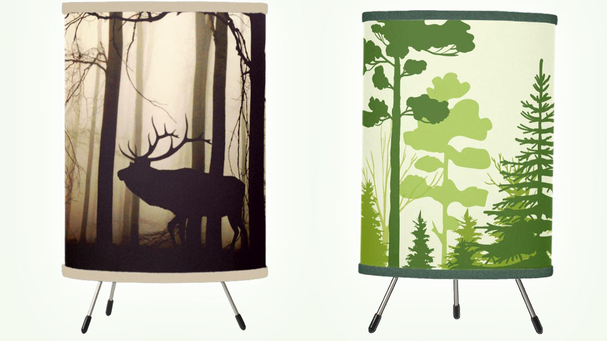 11 Modern And Unique Forest Table Lamps For Home Or Office