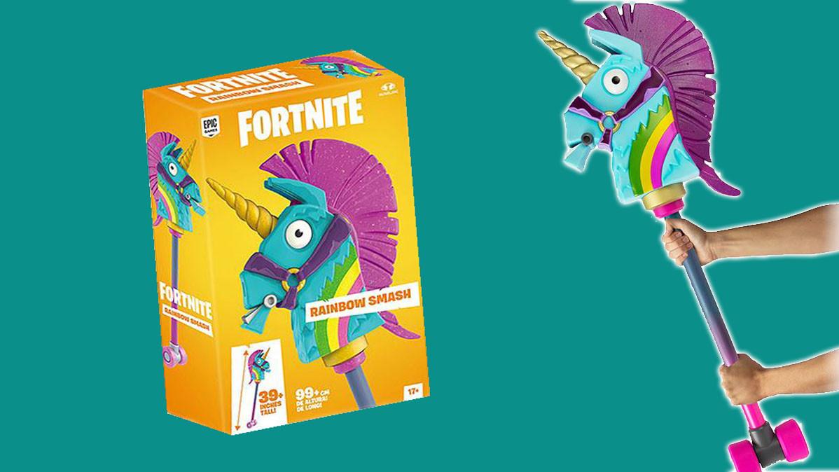 Cool Fortnite Rainbow Smash Pickaxe Replica
