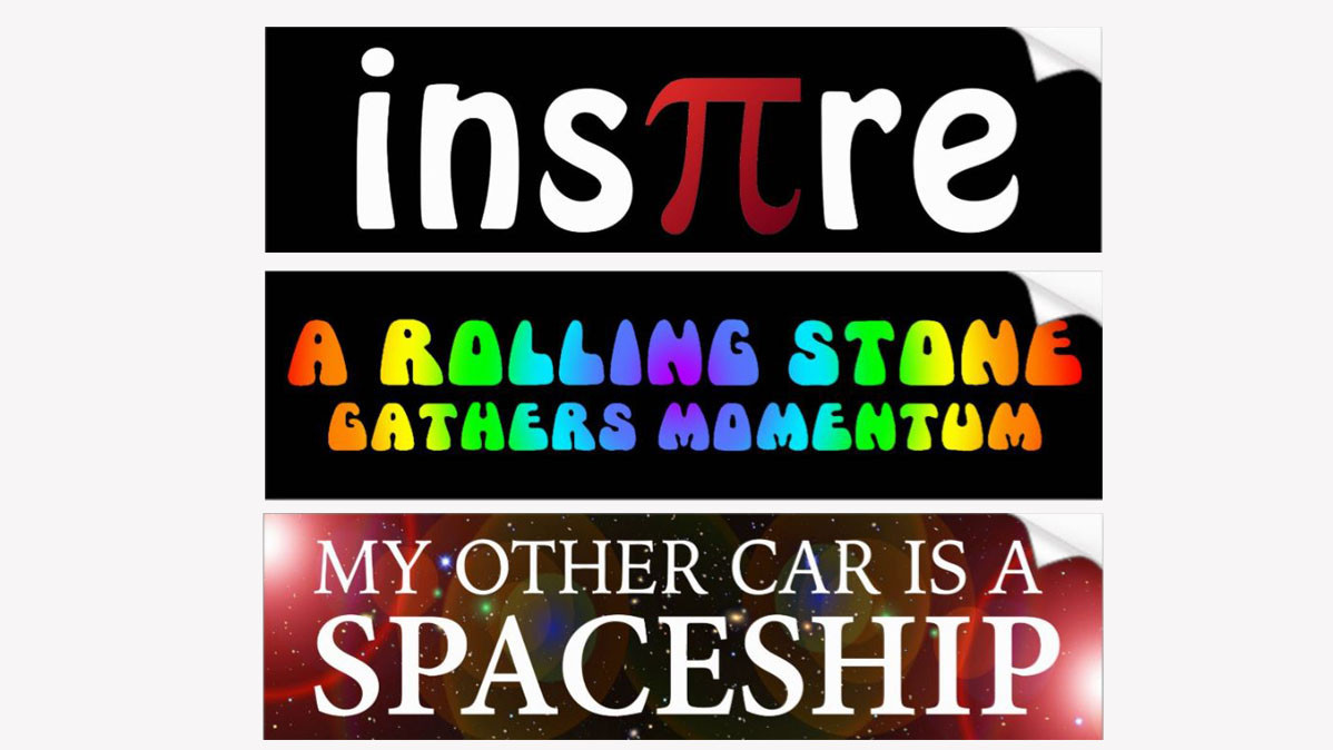 11 Fun Geek Bumper Stickers To Personalize Your Car