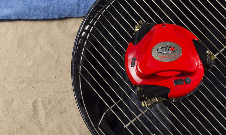 With Grillbot, No More Scrubbing the Leftovers on the Grill