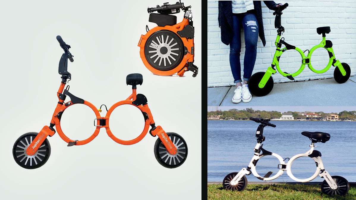 Jupiter Bike The Electric Folding Bicycle