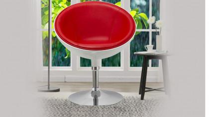 Interesting Modern Swivel Lounging Chair
