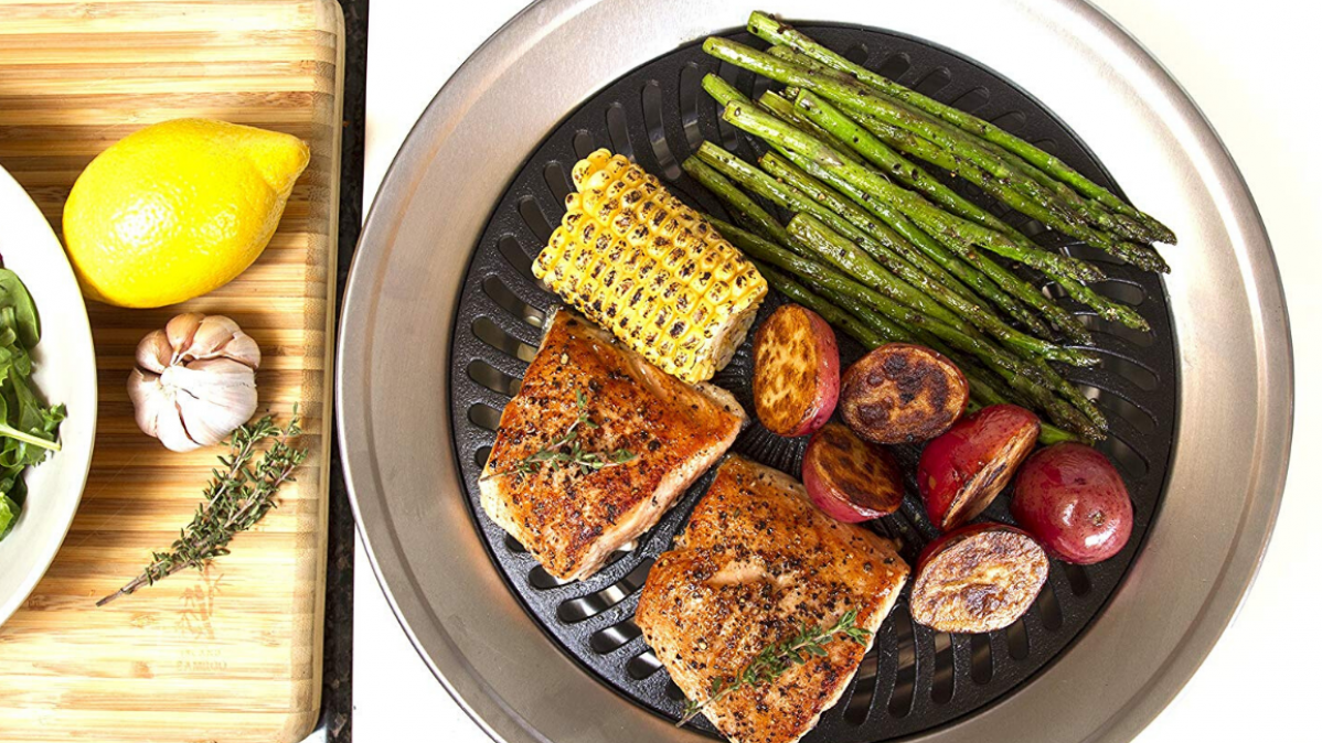 Grill Your Food without Smoke with the Indoor Grill
