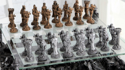 Medieval Knights Classic Chess Board Set