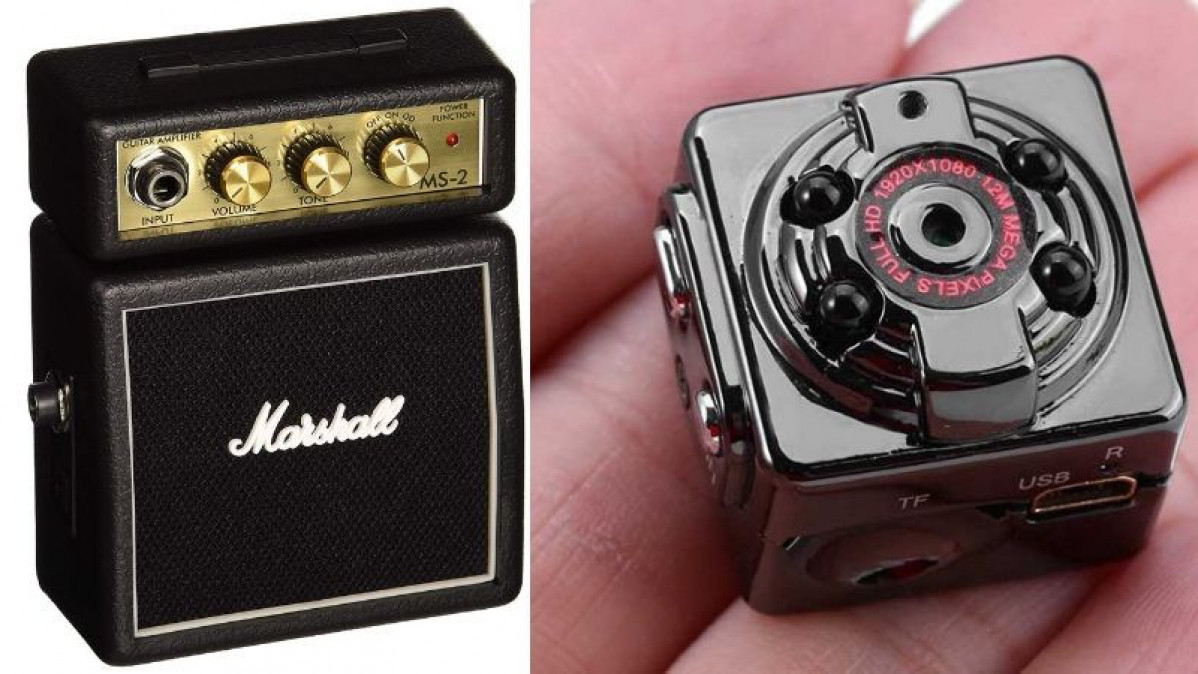 22 Cool Miniature Gadgets