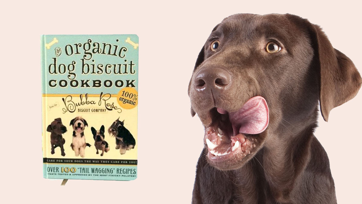 Organic Dog Biscuit Recipe Book With Over 100 Recipes