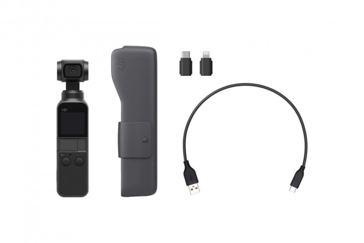 Osmo Pocket, the Smallest Camera yet from DJI