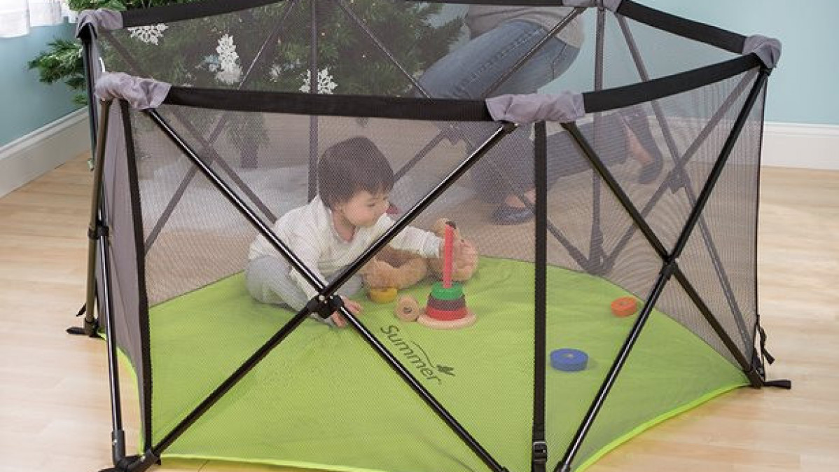 Portable Playground for Kids; Pop N' Play Playard