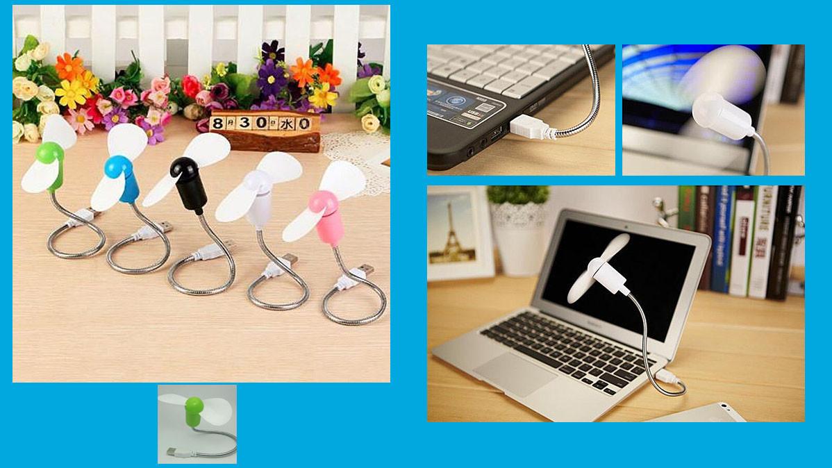 Miniature USB Powered Desktop Fan
