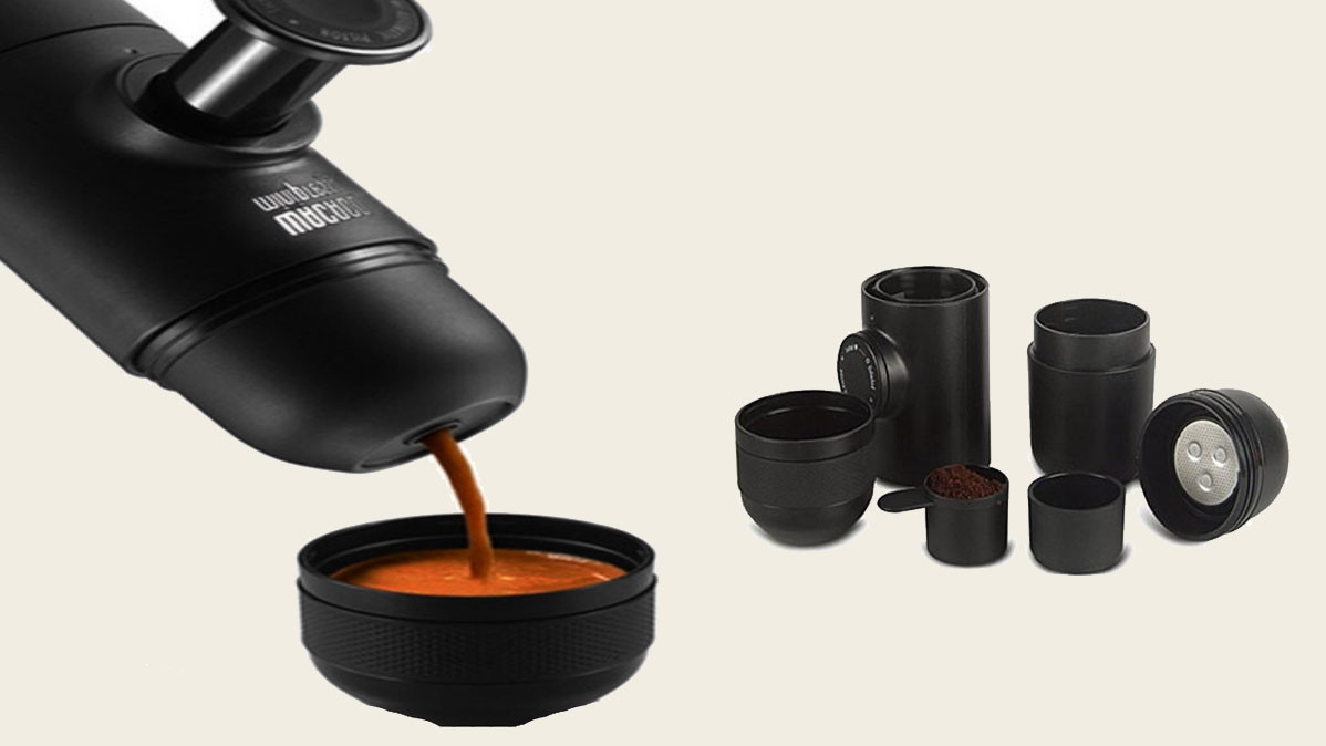 Portable Hand Held Espresso Maker