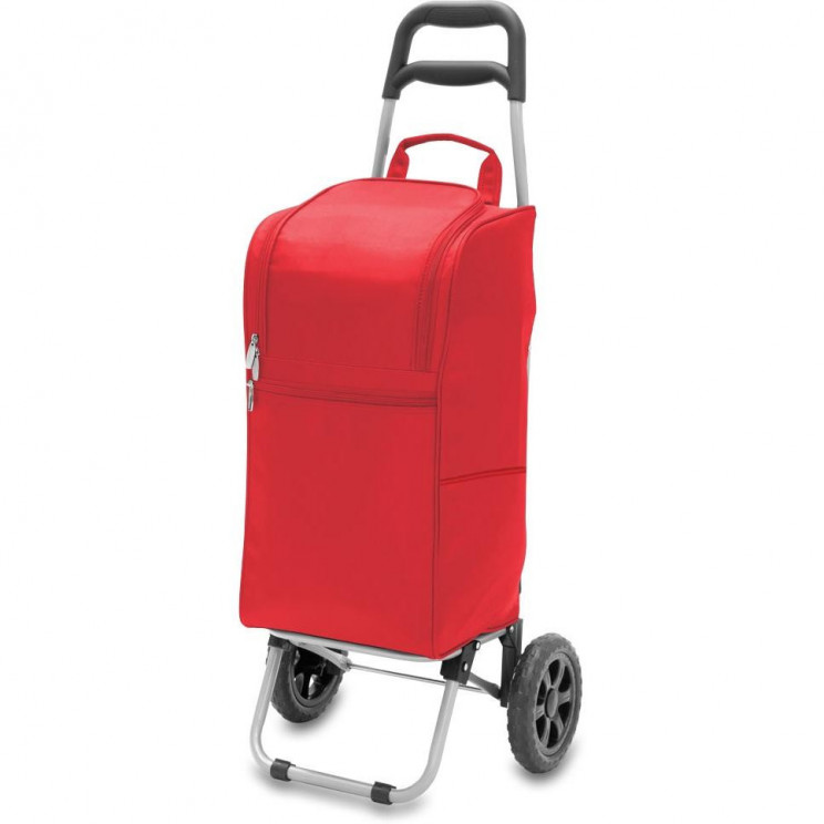 Portable Insulated Picnic Cooler Trolley