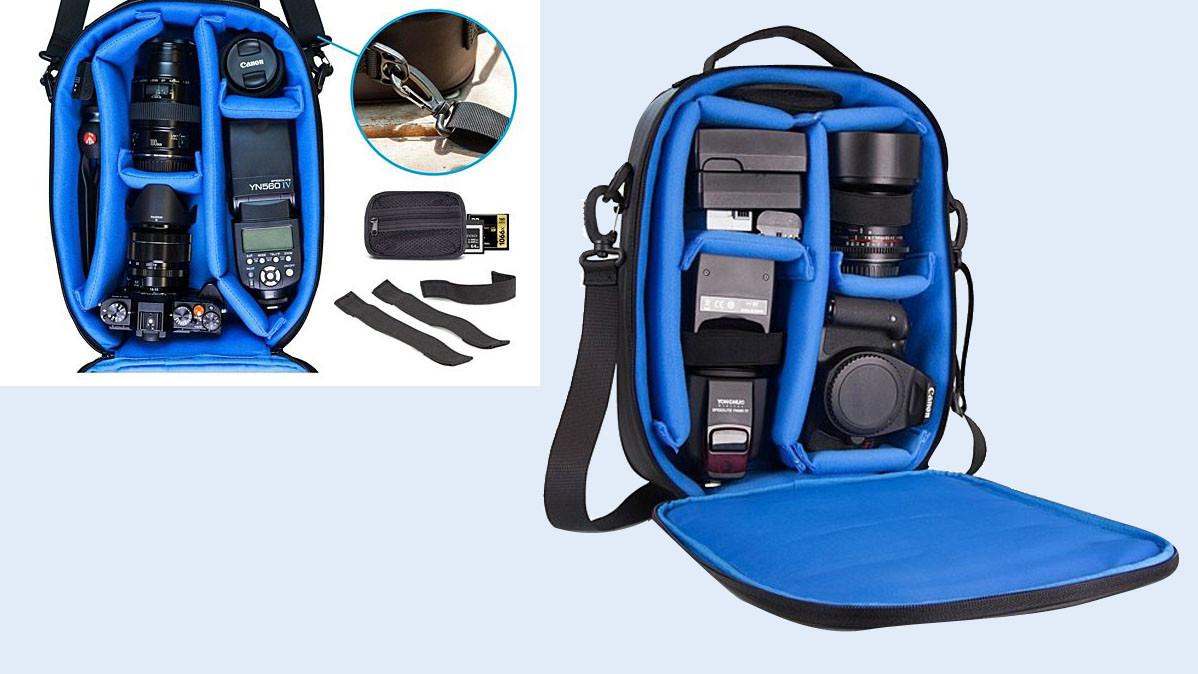 Adjustable Water Resistant Camera Bag