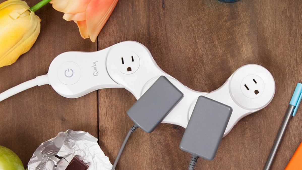 Plug Your Bulky Adapters at Once with Junior by Quirky