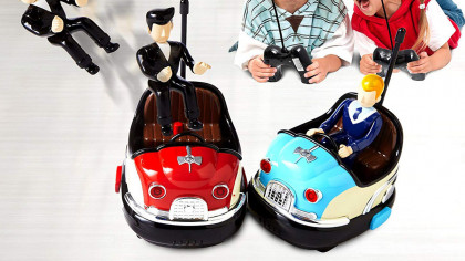 Cool Remote Controlled Retro Bumper Cars