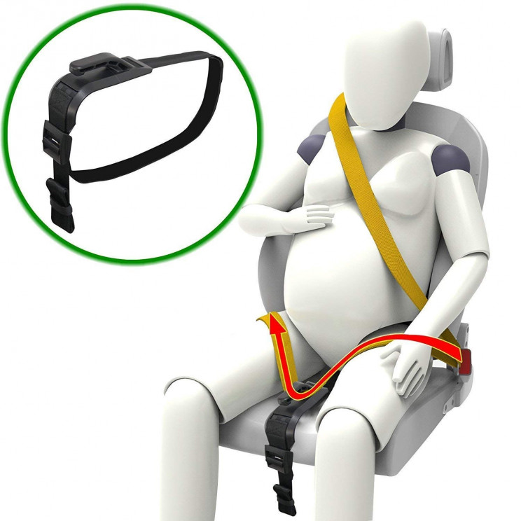 Specially Designed Seat Belt Adjuster For Pregnant Bellies