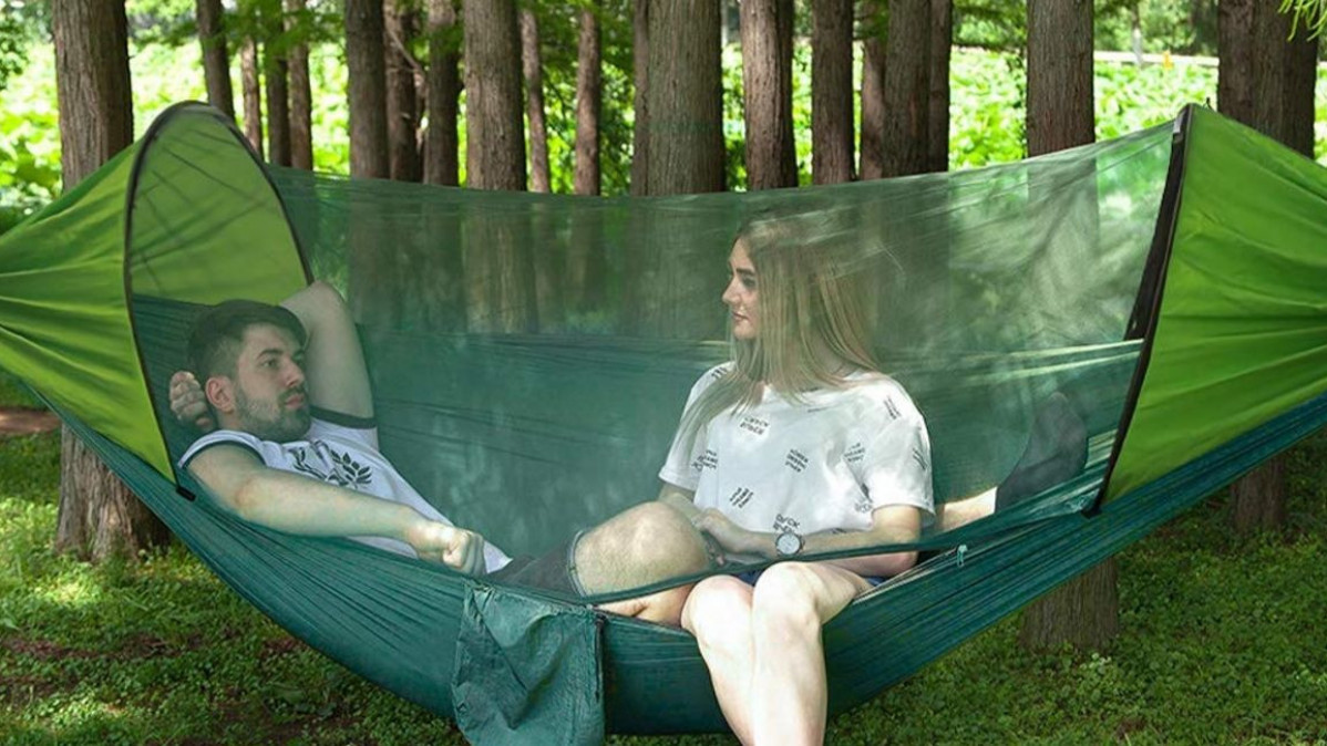 A Camping Hammock for People Who Want to Embrace Nature