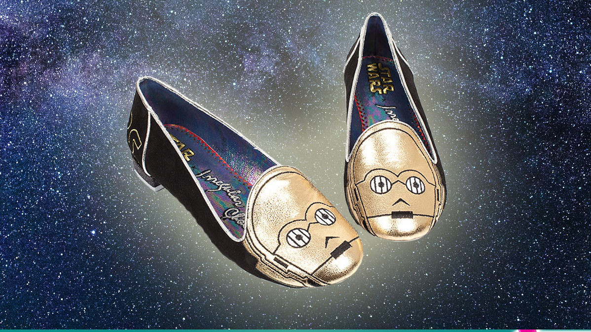 Limited Edition Star Wars C-P3O Flat Shoes