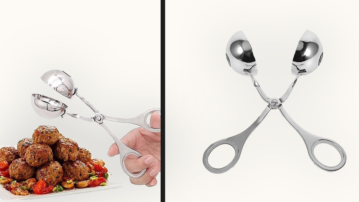 Stainless Steel Non-Stick Meat Baller