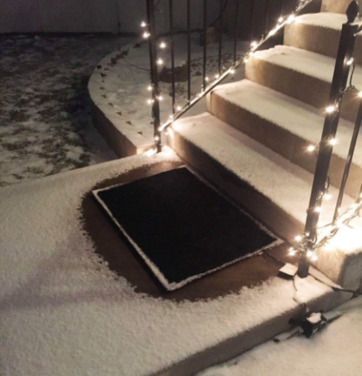 Stop Ice and Snow Accumulation on Your Doorway with the Snow Melting Mats