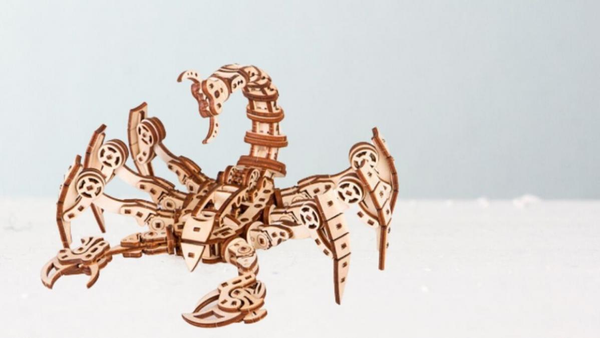 Transform Your Imagination into a 3D Scorpio Robot