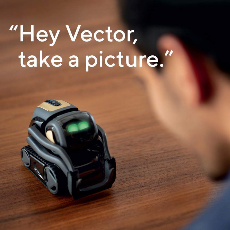 Your Smart Assistant at Home: Vector Robot by Anki