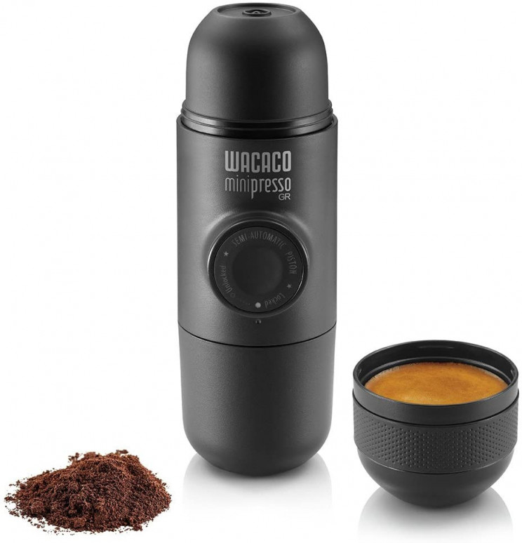 Enjoy Your Coffee Anywhere with Minipresso Machine