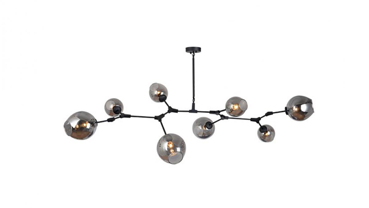 Branching Bubbles Modern Pendant Light