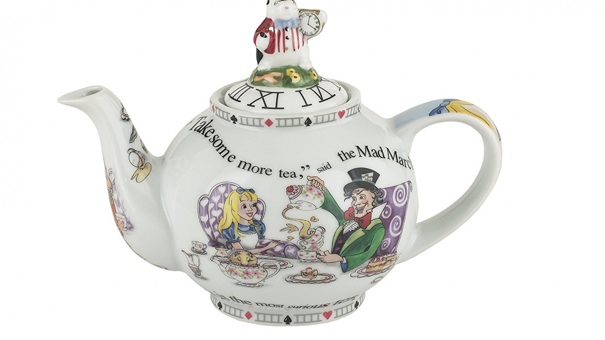 11 Fabulous Alice In Wonderland Teapots