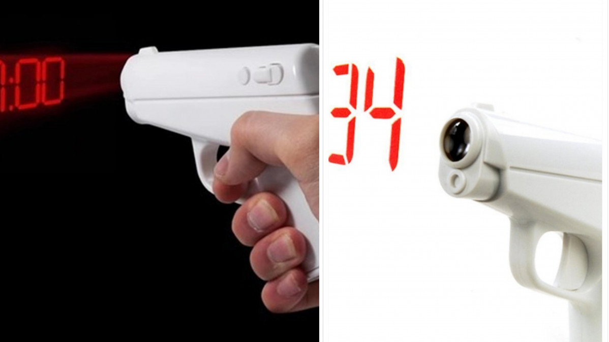 Wake up in Style with the Secret Agent Alarm Clock!
