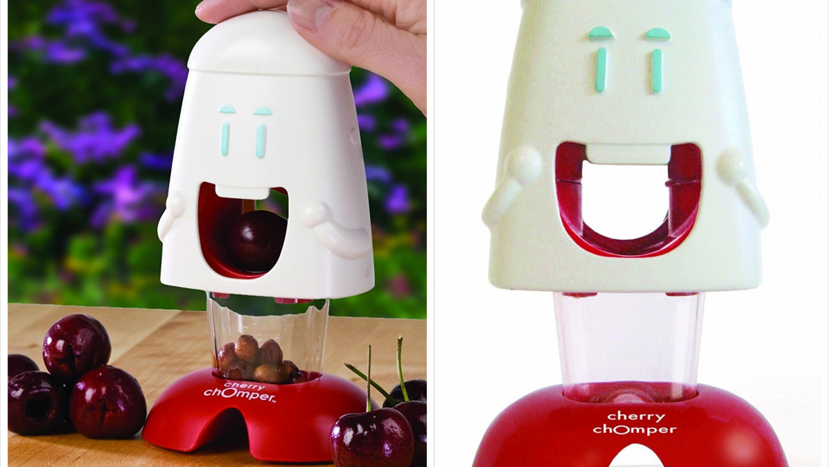 This Cherry Chomper Makes Eating Cherries Simple!