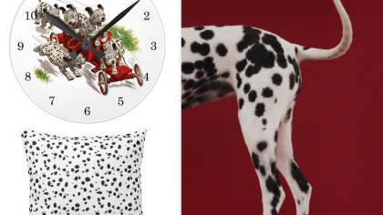 Cute Dalmatian Home Decor For Dog Lovers