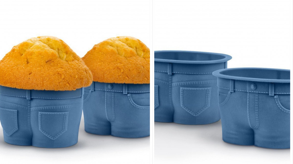 These Jean Muffin Molds Will be a Favorite with Guests!