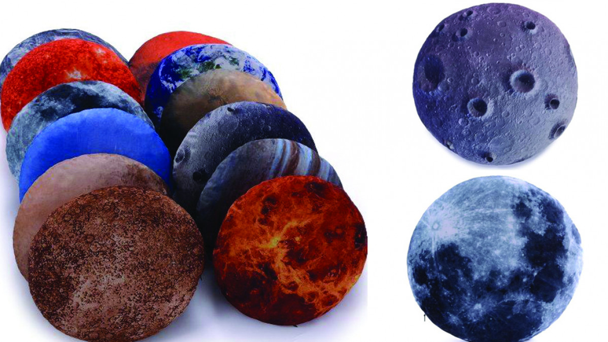 Solar System Throw Pillows