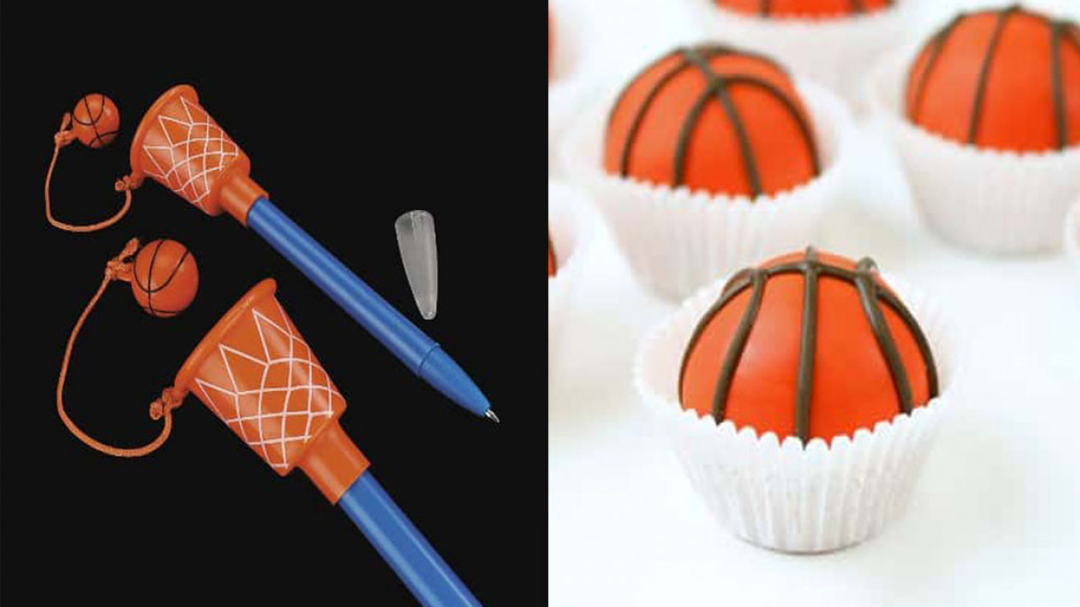 DIY Basketball Birthday Party