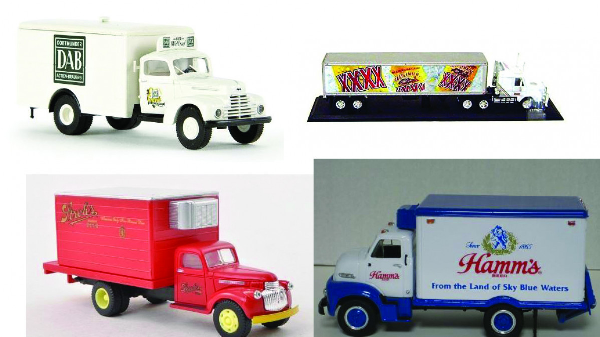 Vintage Beer Truck Collectibles