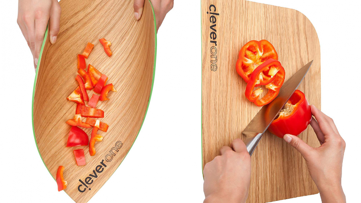 Flexible Wooden Surface Cutting Board