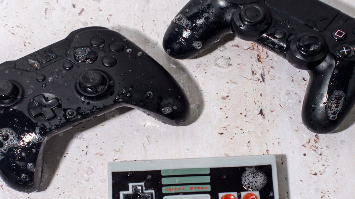 Game Controller Soaps Cool Gift Idea