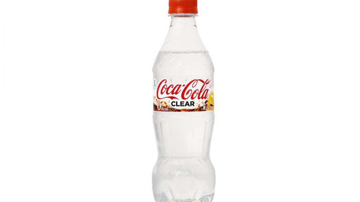 Japanese Zero Calorie Clear Coca Cola