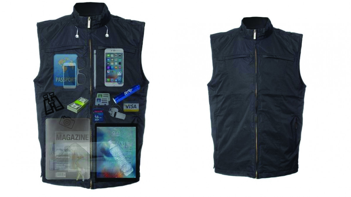 Vest With Concealed Pockets