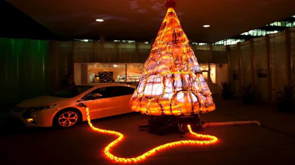 Vauxhall Cool Christmas Tree