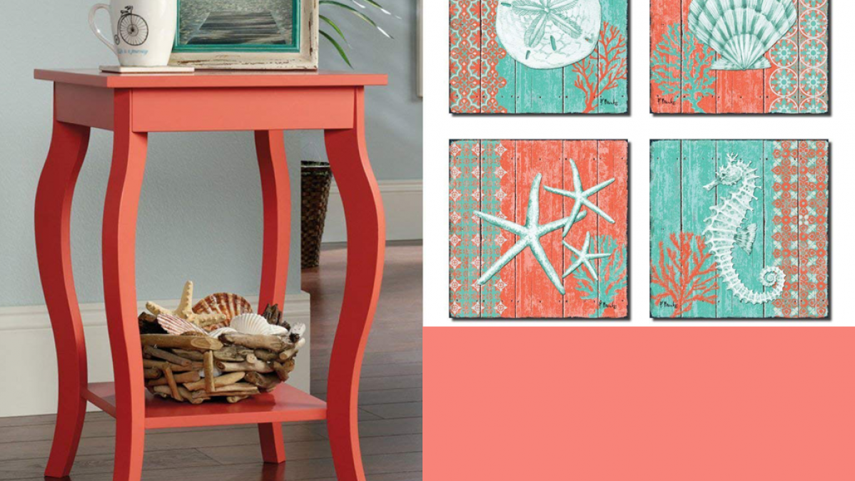 8 Coral Home Decor Pieces Perfect For Summer