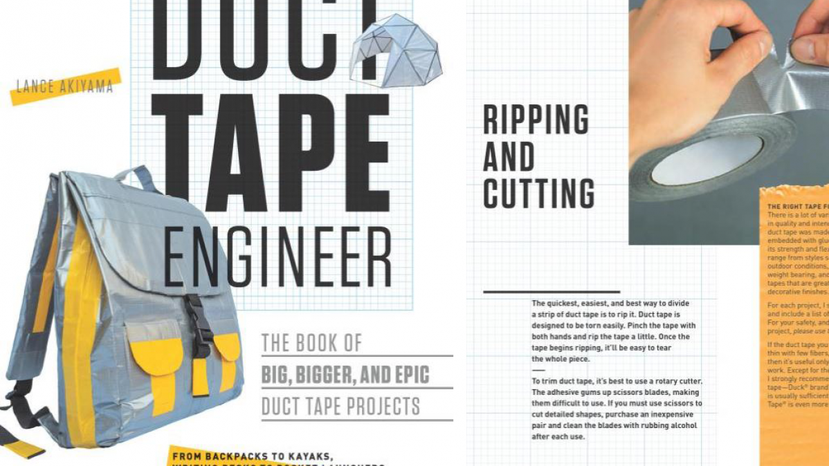 Book Of Epic Duct Tape Engineering Projects