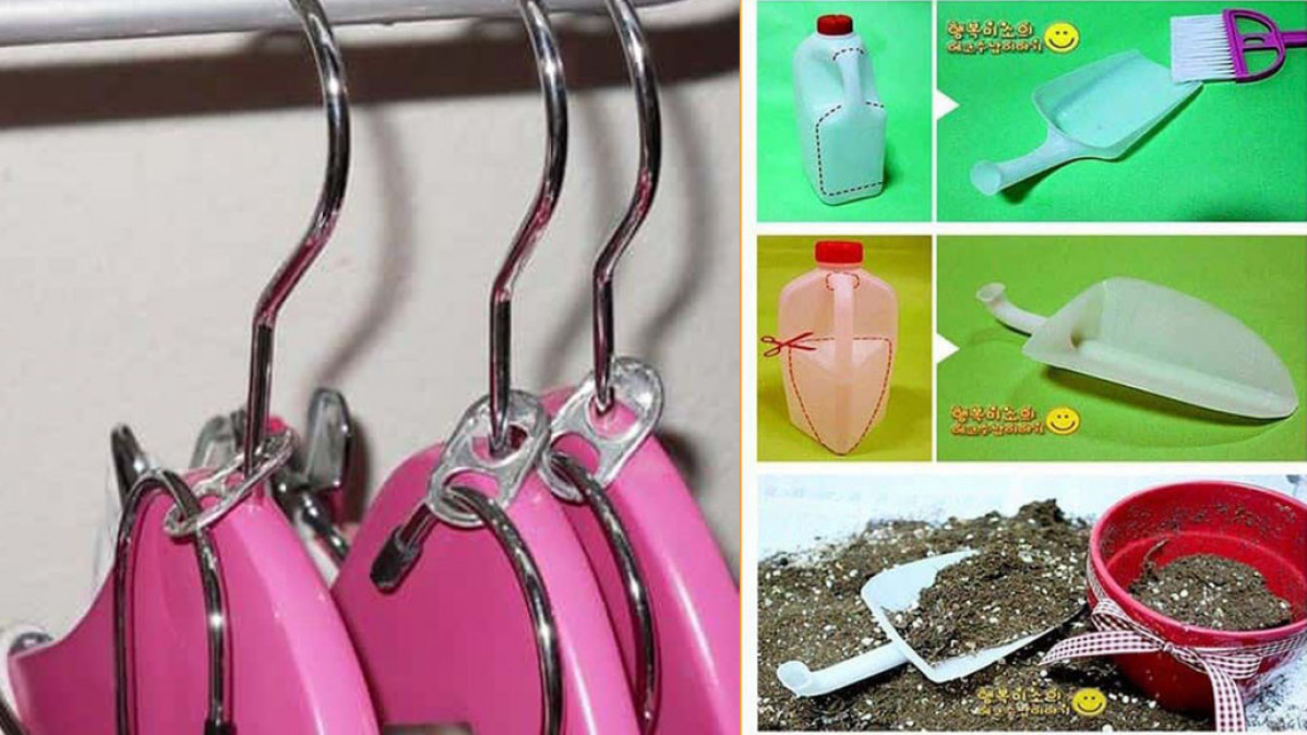 20 Amazing DIY Recyling Ideas