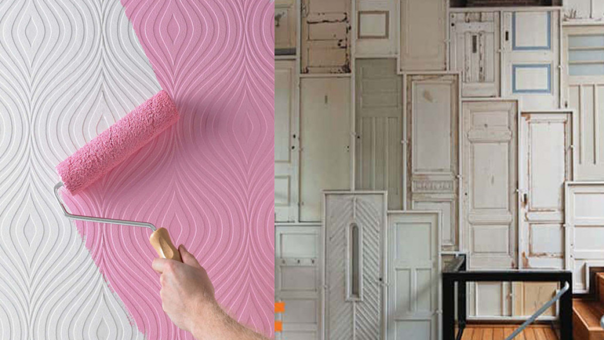 10  Cool DIY Feature Walls